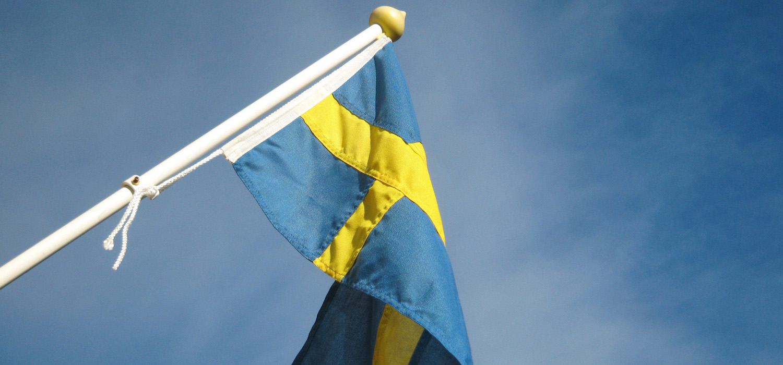 Flagge am Haus